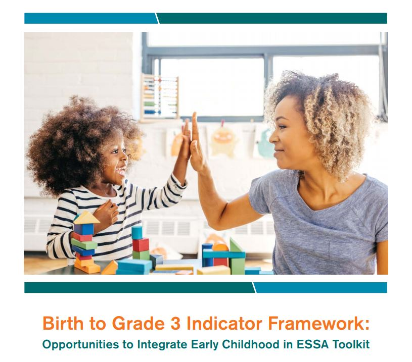 Image of Birth to grade 3 indicator toolkit