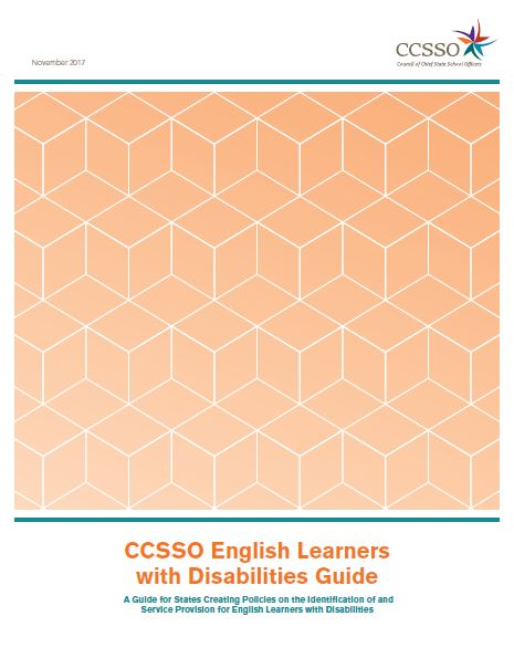 CCSSO English Learners with Disabilities Guide