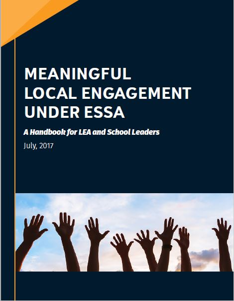 Image of meaningful engagement handbook cover