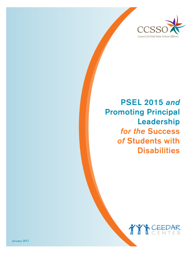 PSEL 2015 and Students with Disabilities Report