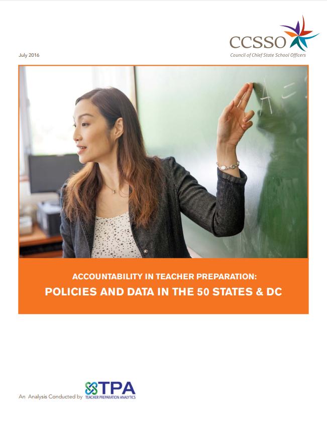 Accountability in Teacher Preparation Cover