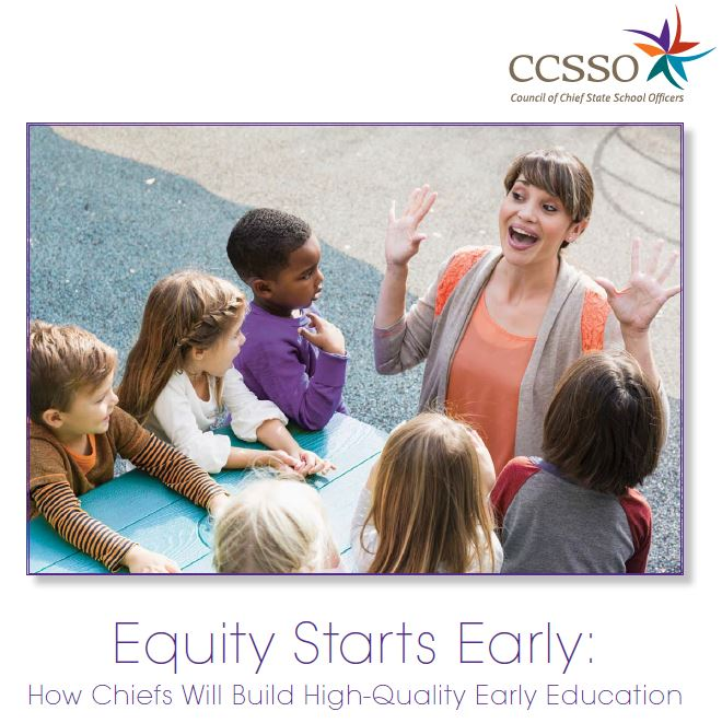 Achievement Gap In Dc Starts In Infancy >> Equity Starts Early Ccsso