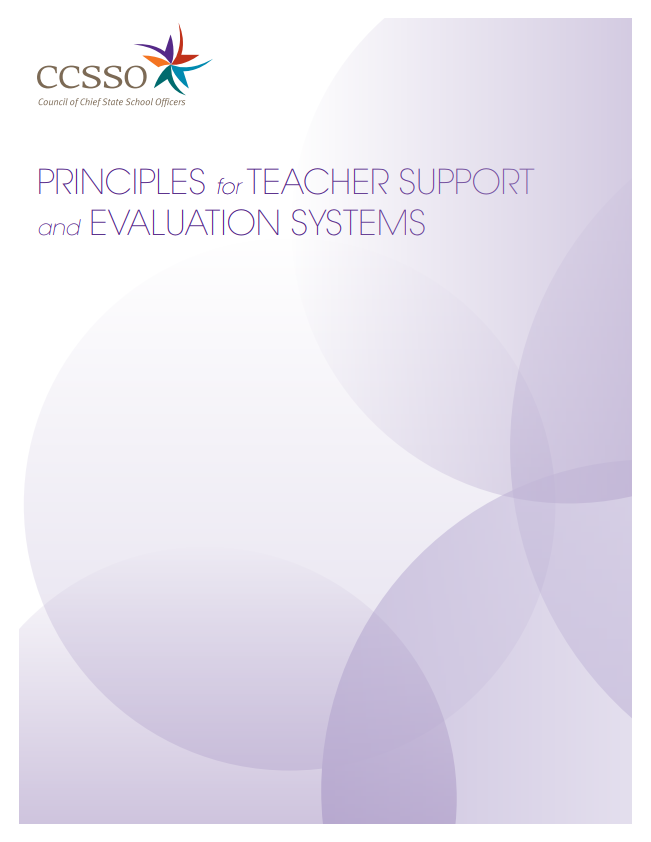 Principles for Teacher Support and Evaluation Cover