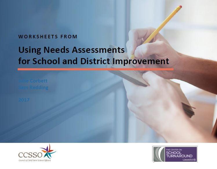 Needs Assessment Worksheet