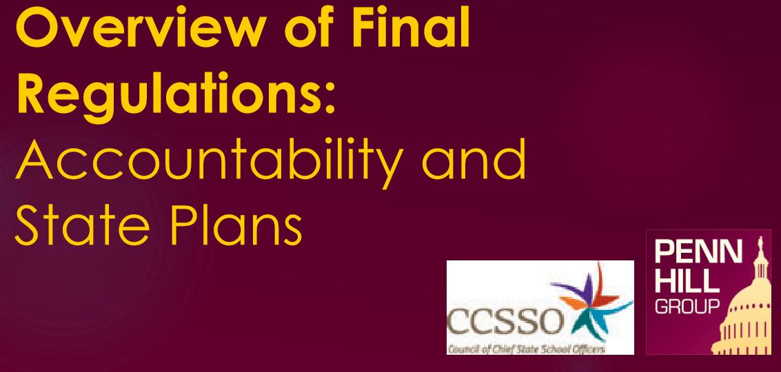 "Image of ""Overview of Final Regulations"" presentation"