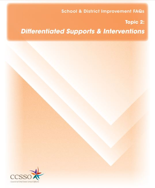 SDI FAQ 2. Differentiation of Supports