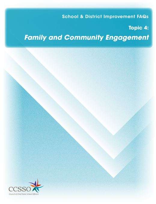 SDI FAQ 4. Family and Community Engagement