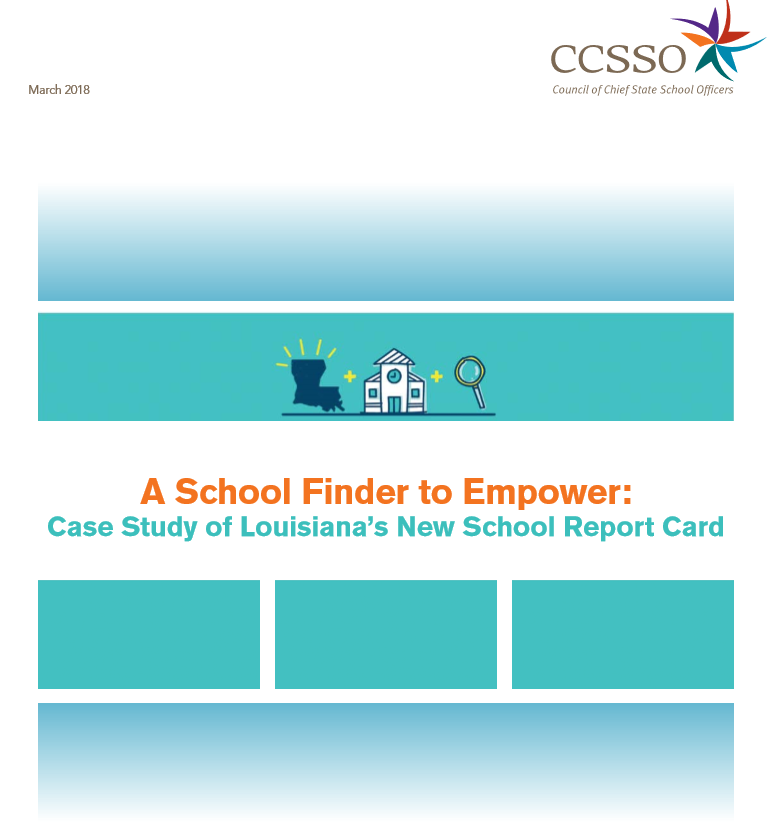 Image of the front cover of the case study with the online portal's image