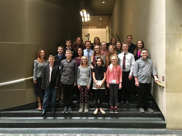image of ND Dakota student cabinet