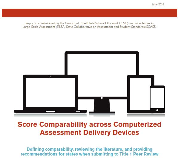 Score Comparability across Computerized Devices