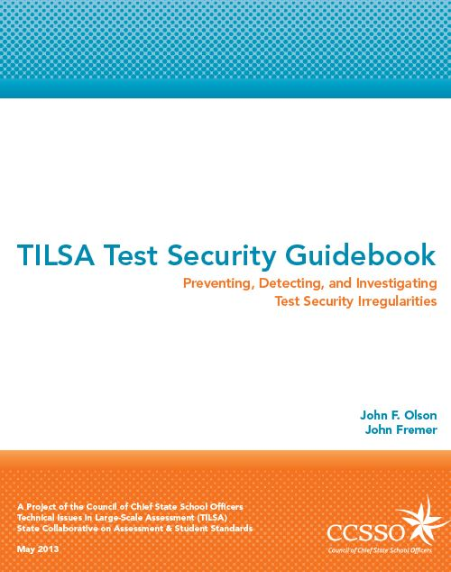 Test Security Guidebook