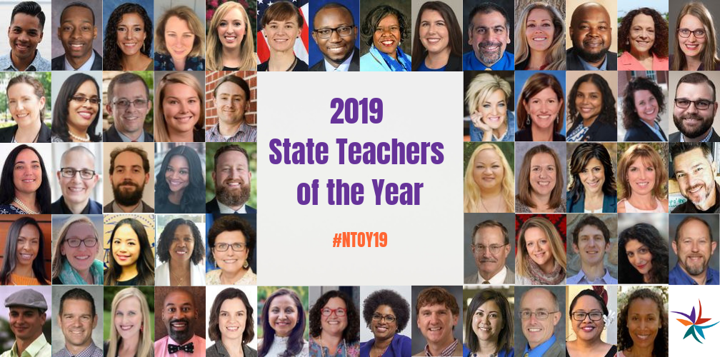 Image of 2019 State Teachers of the Year
