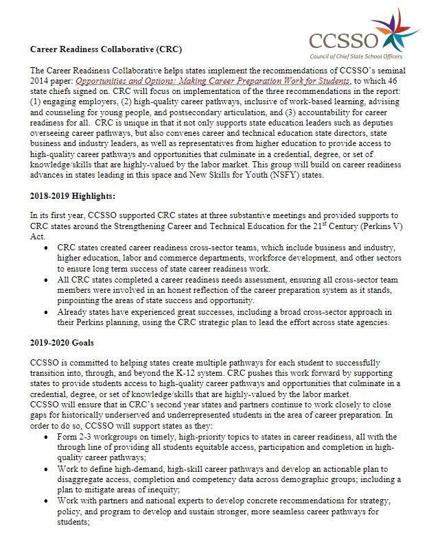 CRC Membership Information