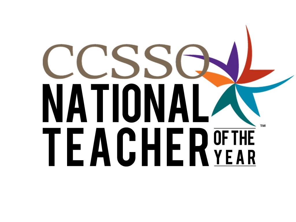 Logo for the National Teacher of the Year program
