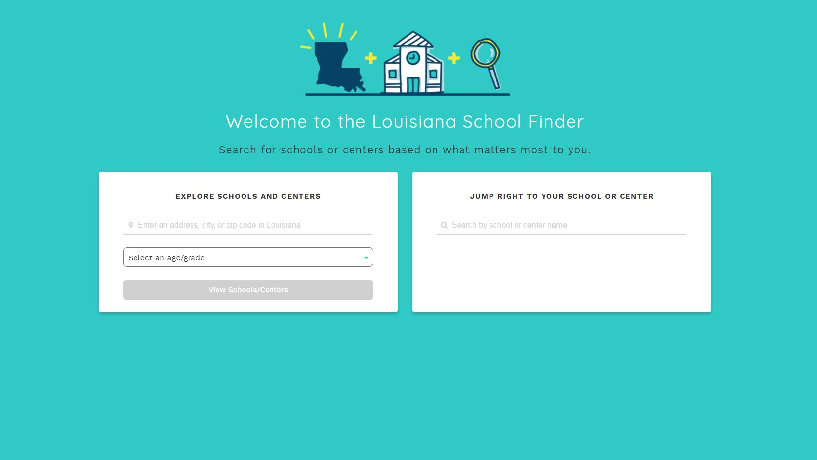 Image of LA school finder