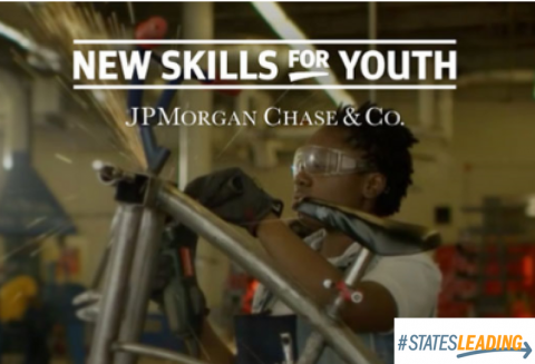 Image of new Skills for Youth logo